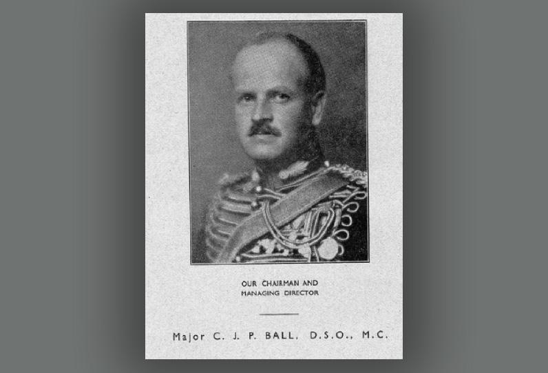 Major Charles Ball