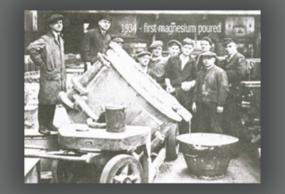 British Magnesium (Elektonmetall) Co. Ltd. founded