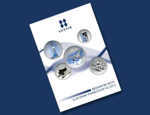 Luxfer Magnesium Products Design Guide – Second Edition Published