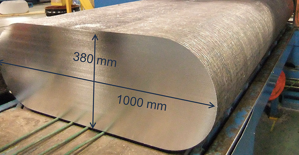 Lightweight Magnesium Slab for Machining