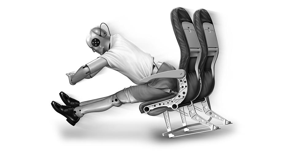 Magnesium aircraft seats